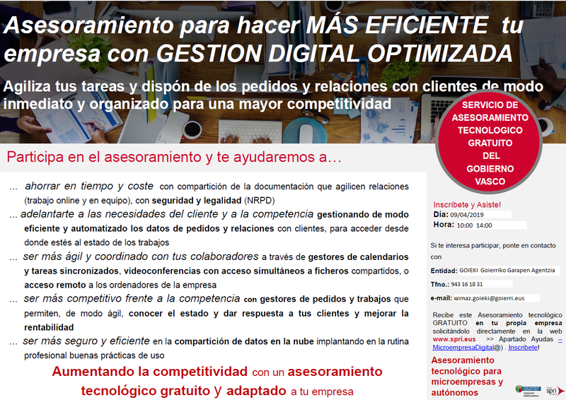 GESTION DIGITAL OPTIMIZADA