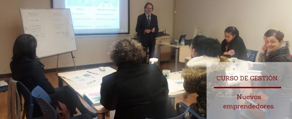 Curso de gestión empresarial para nuevos emprendedores