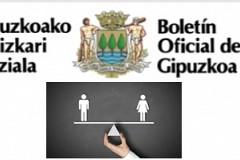2018ko Gipuzkoako enpresetako «Emakumeen eta gizonen berdint