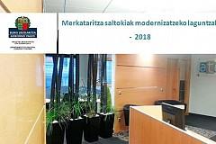 MEC: Merkataritza saltokiak modernizatzeko laguntzak - 2018